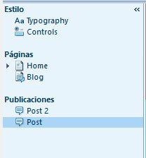 Edicion Paginas Artisteer