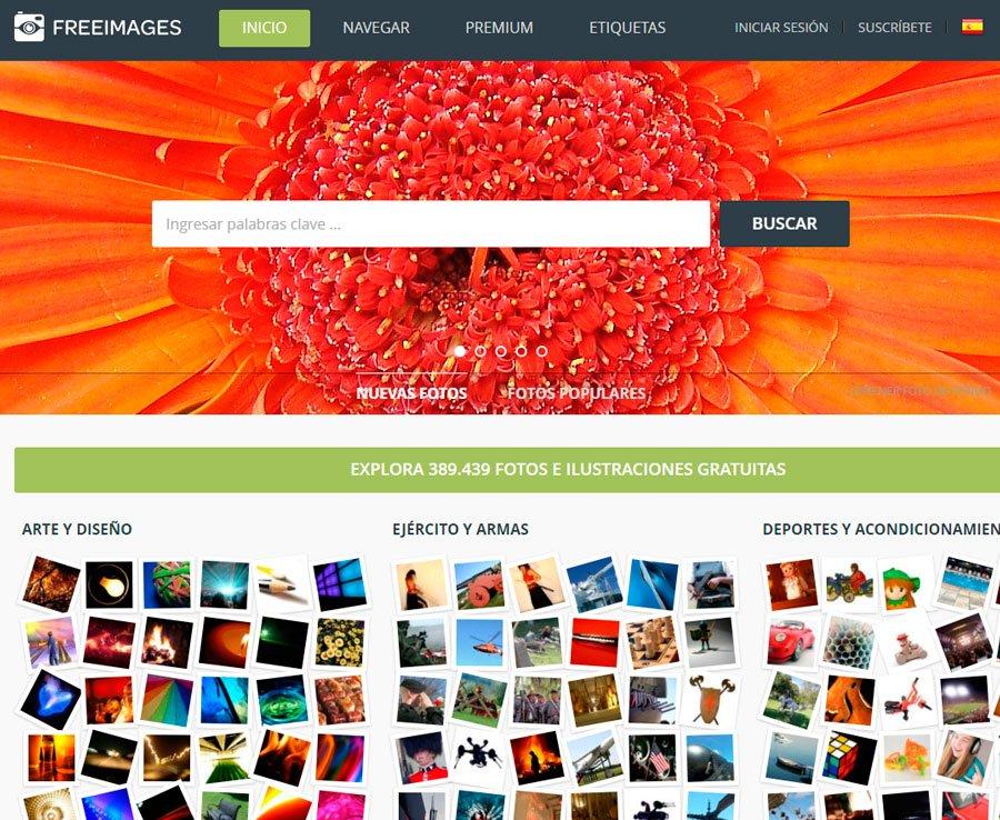 Freeimages banco de imagenes