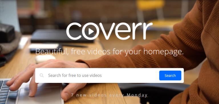 Coverr vídeos gratis