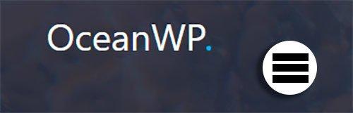 OceanWP Menu Orbital